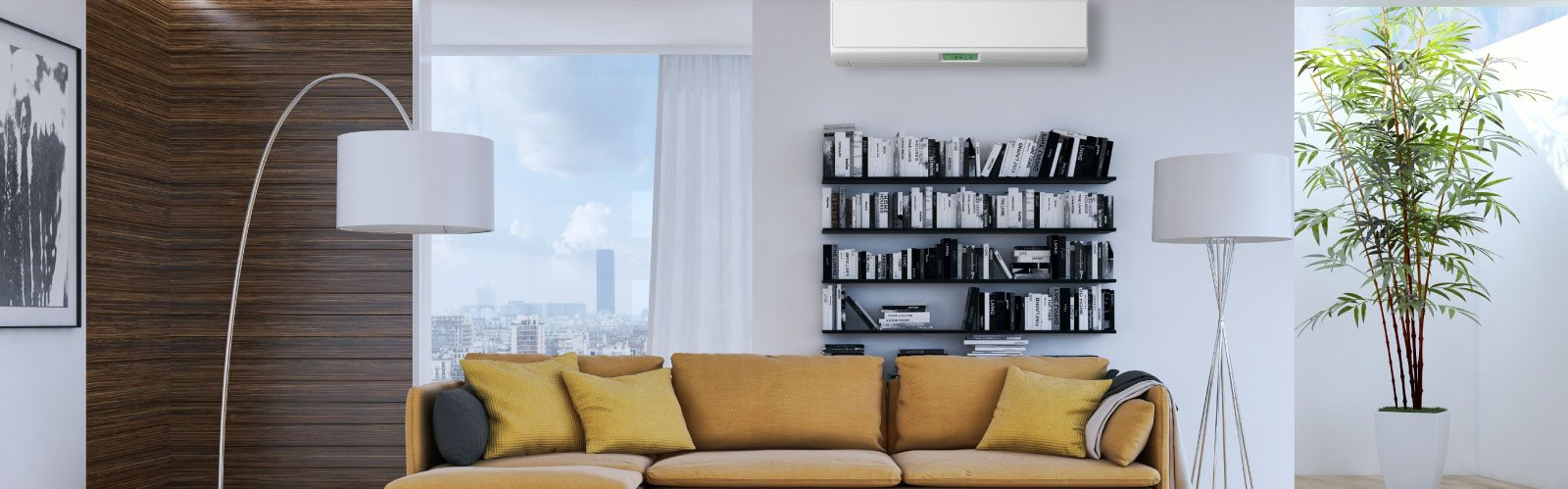 Start saving on your heating & a/c bills with a ductless mini split system! Call At Temp today to get yours!