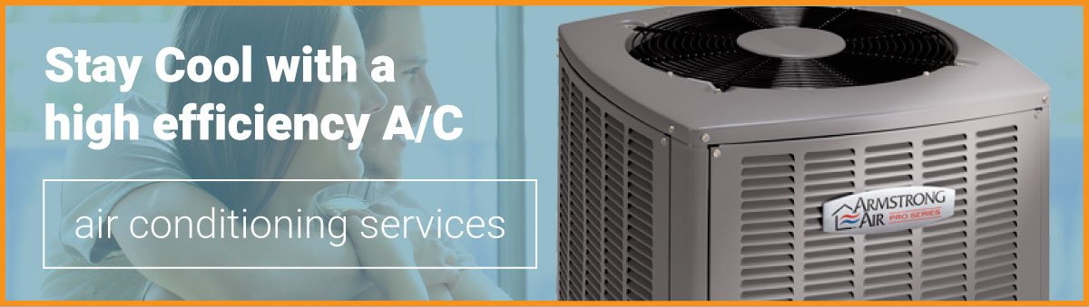 Get your high efficiency air conditioner from At Temp Mechanical today!